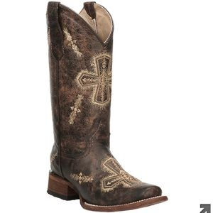 Cowgirl Boots- Only worn once!